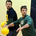 aaron rodgers dodgeball