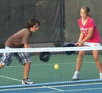 Pickleball, not just for Seniors.
