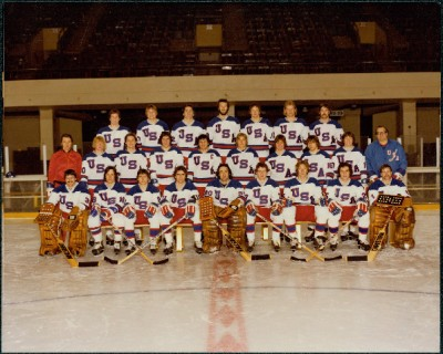 Miracle on Ice Team Photo (1980)